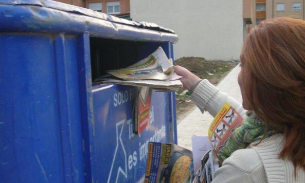 Cáceres obtiene un premio nacional por el reciclado de papel y cartón