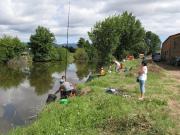 El embalse de Borbollón acogerá el próximo domingo el XXII Trofeo Diputación de Pesca