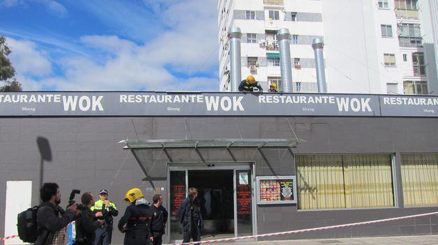 El Ayuntamiento de Cáceres exige informes a los bloques afectados por el derrumbe del restaurante Wok