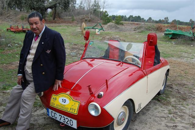 José Vizcaíno quiere comercializar un invento que patentó para reducir combustible en el tabaco