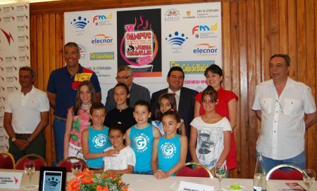 Pedrera participa en la presentación del VI Campus Internacional de Gimnasia Rítmica 'Nuria Cabanillas'