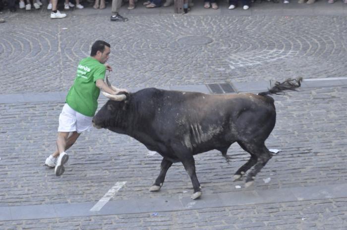 Moraleja instalará un doble perímetro de seguridad del vallado durante la lidia de los toros en las calles