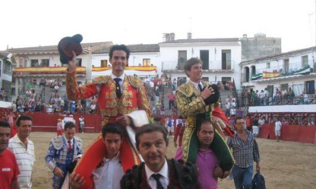 Antonio Puerta y Tomás Angulo salen a hombros en la novillada con picadores de San Buenaventura