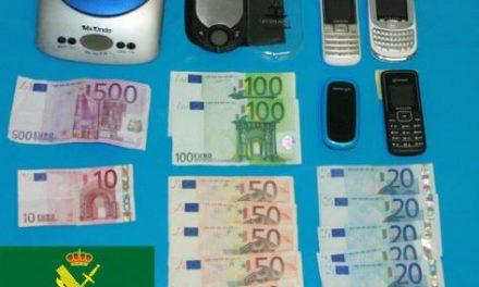 La Guardia Civil detiene a cinco personas en una operación contra el tráfico de drogas en Las Hurdes
