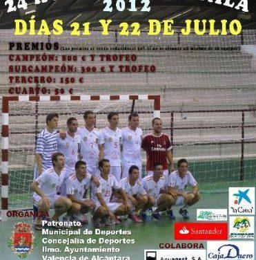 Valencia de Alcántara acoge este fin de semana un campeonato 24 horas de fútbol sala