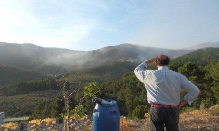 El incendio de Las Hurdes continúa estabilizado y los trabajos de extinción seguirán durante la noche