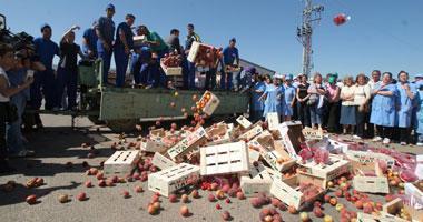 UPA-Uce entregará en Madrid 8.000 kilos de fruta extremeña para denunciar la crisis del sector