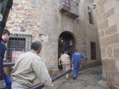 El centro provincial de artesanía abrirá próximamente en la Casa de los Moraga, en Cáceres