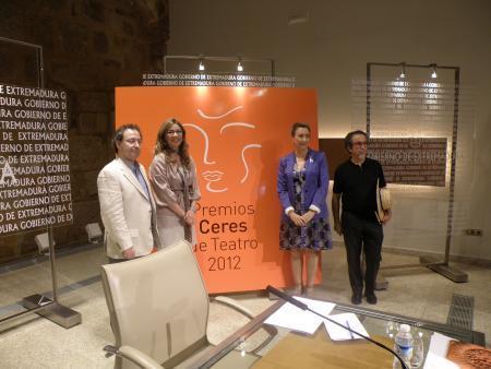 El Gobierno extremeño crea los premios Ceres 2012 para reconocer lo mejor de la temporada teatral