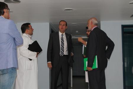 El consejero de Salud afirma que las obras del Hospital de Plasencia están completadas en un 85 por ciento