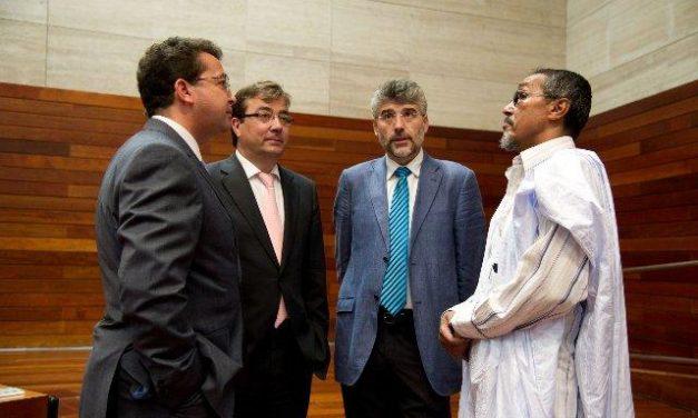 El Parlamento de Extremadura celebra el Acto Institucional de apoyo al Pueblo Saharaui