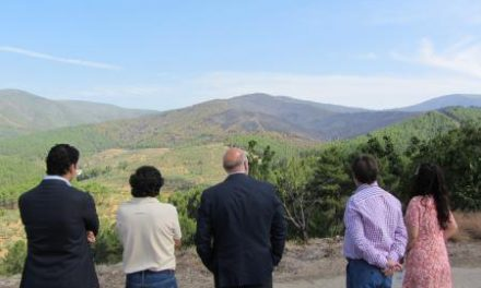 El incendio forestal de la comarca de Las Hurdes calcina 657 hectáreas y queda extinguido «en su totalidad»