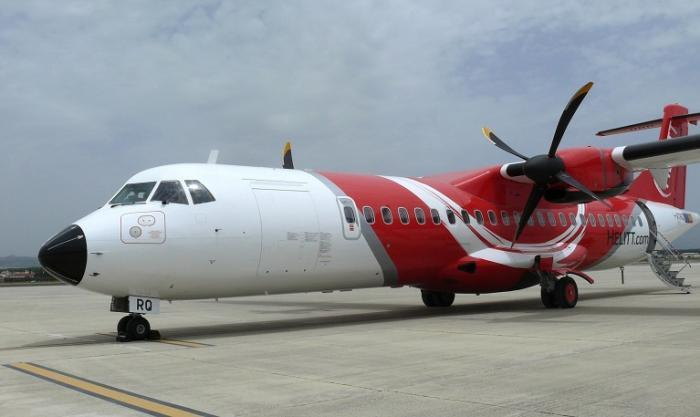La compañía aérea Helitt aumenta su oferta de rutas con escala desde el aeropuerto de Badajoz