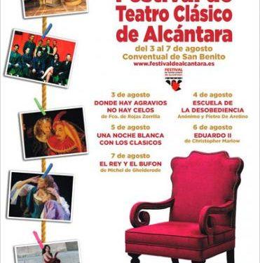El conventual de San Benito de Alcántara se prepara para celebrar la XXVIII edición del Festival de Teatro Clásico