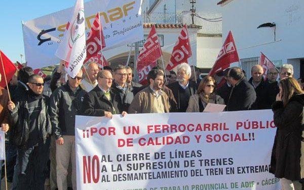 Fomento confirma que el tren Lusitania dejará de pasar por Extremadura a partir del día 15 de este mes
