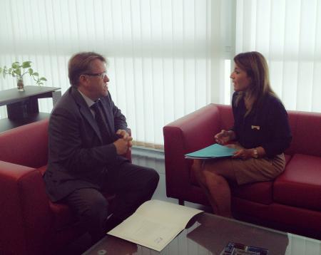 Fomento y el Ayuntamiento de Cáceres aúnan esfuerzos para dar un impulso a la urbanización El Junquillo