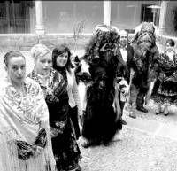 Las Fiestas de Las Carantoñas de Acehúche esperan atraer a 5.000 personas el domingo