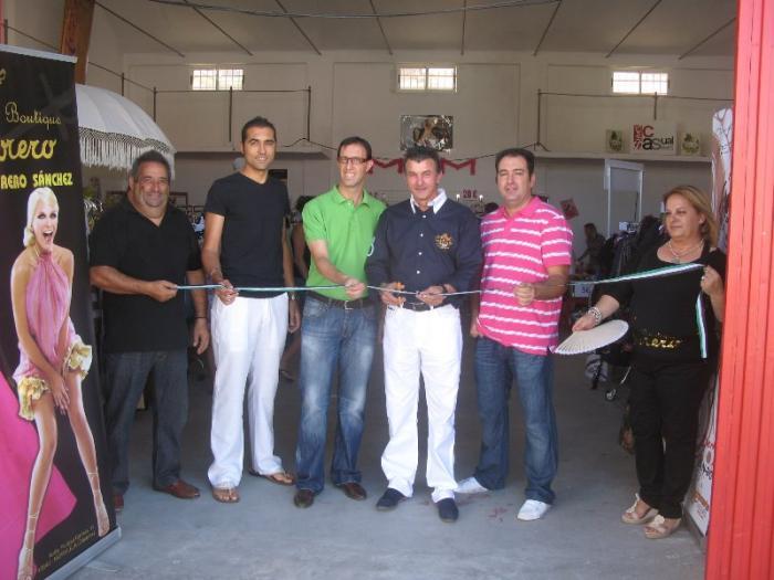 Moraleja inaugura la IV edición de la Feria de Stock y el vehículo de ocasión con gran afluencia de público