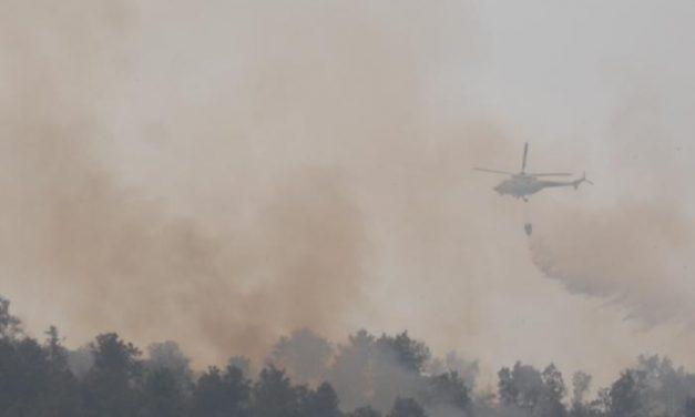 Los medios técnicos del Infoex atajan otro incendio en Sierra de Gata y sólo arden cinco hectáreas