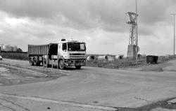 La rotonda de la carretera Ex-105 en Almendralejo está pendiente de que se realicen dos expropiaciones