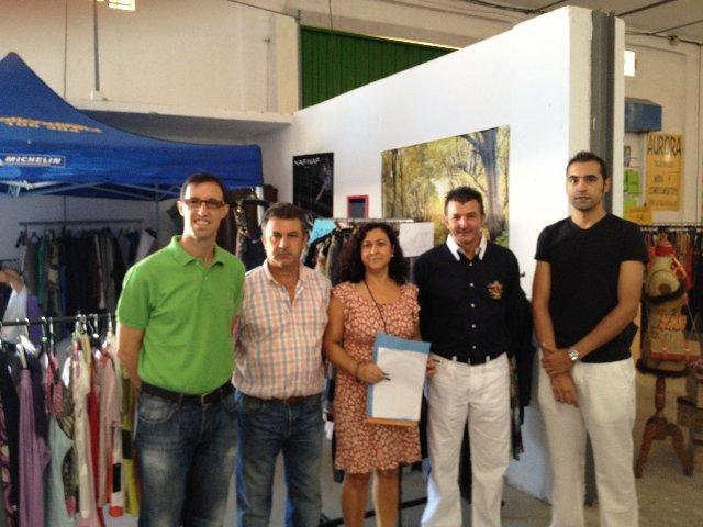 Unas 5.000 personas visitan la Feria del Stock organizada por la Asociación Rivera de Gata de Moraleja