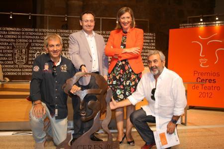 Los Premios Ceres 2012 cerrarán el Festival de Teatro Clásico con representantes del teatro nacional