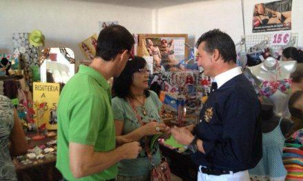 Rivera de Gata anima a los empresarios de Moraleja a participar activamente en la XVI Feria Rayana