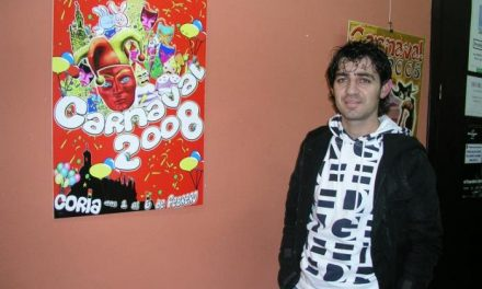 El cauriense Fernando Ramos gana el concurso de carteles de las fiestas del Carnaval del 2008