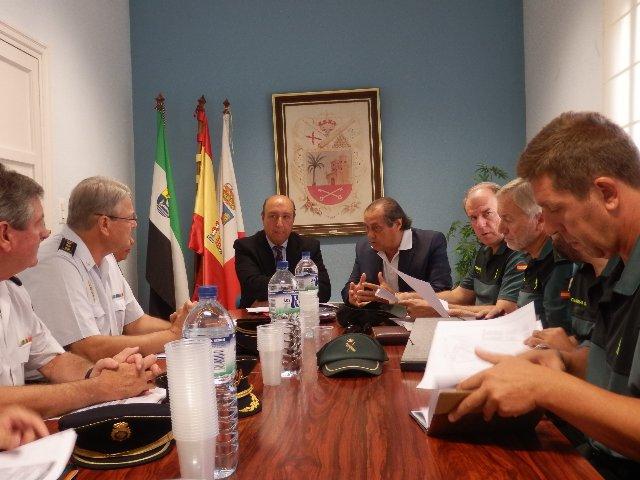 La Junta Local de Seguridad de Don Benito concluye que los delitos descienden un 12,5% en el último año