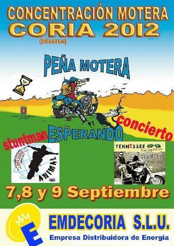 La peña motera Esperando de Coria reunirá a los aficionados a las dos ruedas en su concentración anual