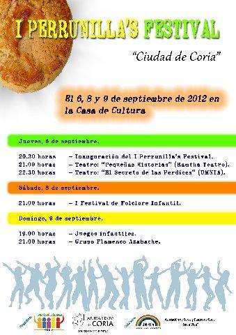Coria organiza la primera edición del Perrunillas's Festival con teatro, folclóre y juegos infantiles