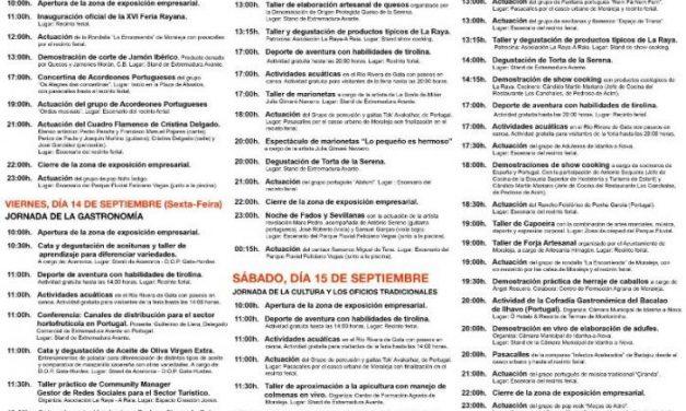 La Feria Rayana de Moraleja tendrá como eje la promoción de los productos agroalimentarios