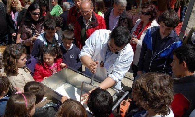 Un taller de la DOP Queso de la Serena enseñará la elaboración artesanal del queso en la Feria Rayana