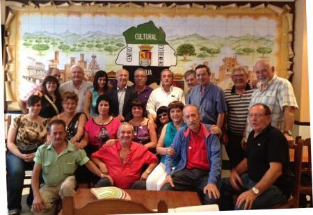 El director de Política Social celebra el 8 de septiembre con extremeños de Madrid, Pamplona y el País Vasco