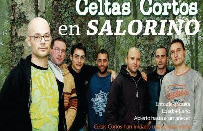 Salorino anima a los extremeños a apoyarles para conseguir un concierto de Celtas Cortos en un concurso