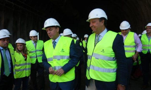 Adif aborda la fase final de la excavación del túnel Santa Marina del subtramo Grimaldo-Casas de Millán