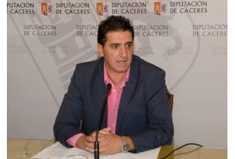 La Diputación de Cáceres destinará 2,5 millones de euros para los ayuntamientos de la provincia