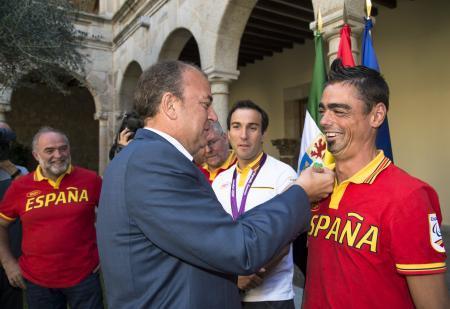 Monago resalta el esfuerzo y sacrificio de los deportistas olímpicos extremeños como referente para los jóvenes