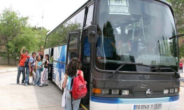 Educación garantiza que el servicio de transporte escolar comenzará con total normalidad para el alumnado
