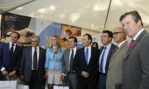 La Diputación de Cáceres expresa su compromiso para seguir apoyando en próximas ediciones la Feria Rayana