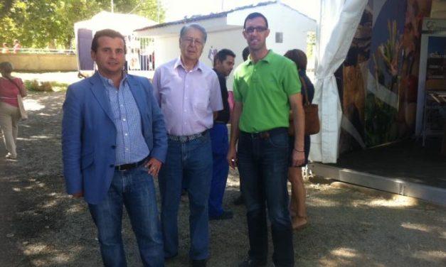 """El alcalde de Moraleja, Pedro Caselles, califica a la Feria Rayana como un certamen de """"éxito y consolidado"""""""