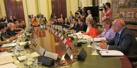 El consejero de Agricultura defenderá en Bruselas las propuestas de Extremadura ante la reforma de la PAC