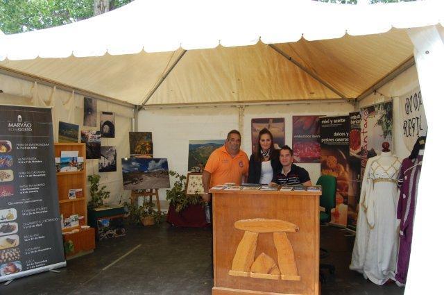 Valencia de Alcántara y Marvâo satisfechos con su participación en la Feria Rayana de Moraleja