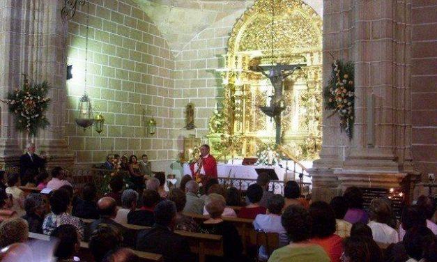 El Cristo de la Agonía de Calzadilla saldrá este domingo en procesión después de doce años
