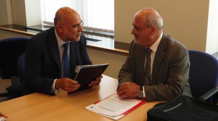 Echávarri pide en Bruselas una apuesta por la diversificación de cultivos en la reforma de la PAC
