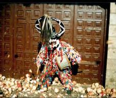 Piornal ajusticia al Jarramplas bajo una descarga de nabos en una multitudinaria fiesta popular