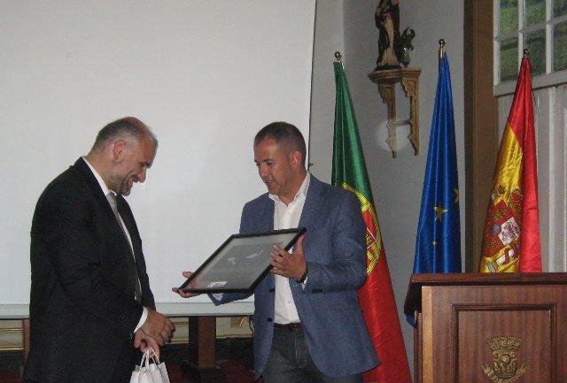 Malpartida de Cáceres y la población lusa de Fundâo firman un protocolo de cooperación y colaboración