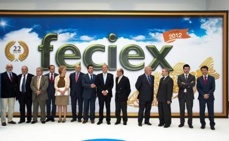 Monago anuncia en Feciex un nuevo reglamento que regulará los terrenos cinegéticos en Extremadura