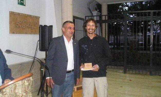 El pintor cordobés Daniel Parra gana el VIII Certamen de Pintura Rápida Ortega Muñoz de San Vicente