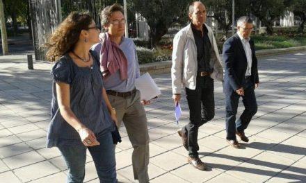 Vadillo y una plataforma ciudadana presentan en el Ministerio las propuestas de una energía limpia